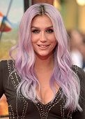 Singer/songwriter Kesha attends the premiere of Disney's 'Planes Fire Rescue' at the El Capitan Theatre on July 15 2014 in Hollywood California