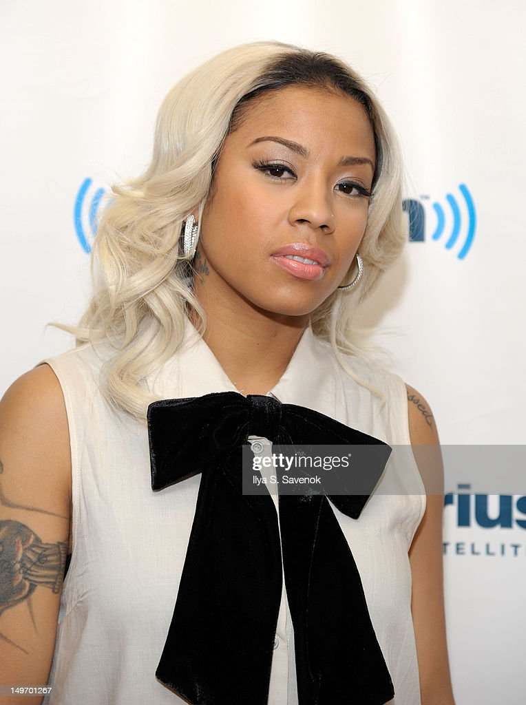 Singer-songwriter <a gi-track='captionPersonalityLinkClicked' href=/galleries/search?phrase=Keyshia+Cole&family=editorial&specificpeople=563536 ng-click='$event.stopPropagation()'>Keyshia Cole</a> visits SiriusXM Studio on August 2, 2012 in New York City.