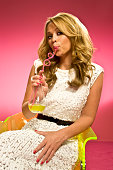 Singersongwriter Kimberley Walsh is photographed for Event magazine in London England