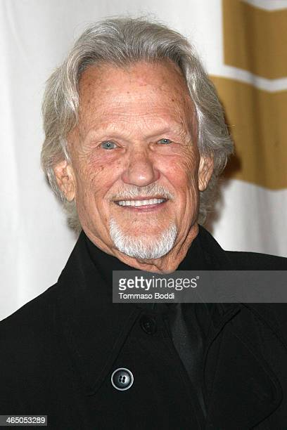 Singersongwriter Kris Kristofferson attends the GRAMMY Foundation's Special Merit Awards Ceremony held at The Wilshire Ebell Theatre on January 25...