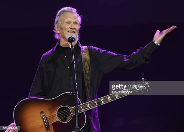 Singer/Songwriter Kris Kristofferson performs during NSAI 50 Yearsof Songs at Ryman Auditorium on September 20 2017 in Nashville Tennessee