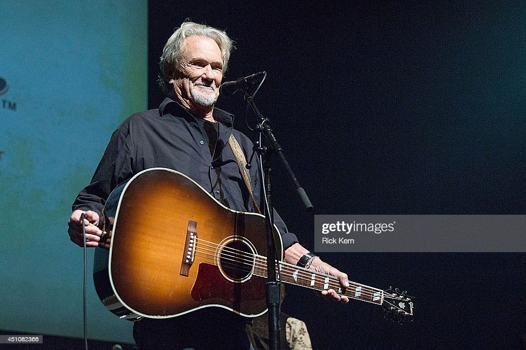 Singer-songwriter <a gi-track='captionPersonalityLinkClicked' href=/galleries/search?phrase=Kris+Kristofferson&family=editorial&specificpeople=206202 ng-click='$event.stopPropagation()'>Kris Kristofferson</a> performs in concert as part of the 9th Annual Texas Heritage Songwriters' Hall of Fame Awards Show at ACL Live on June 22, 2014 in Austin, Texas.