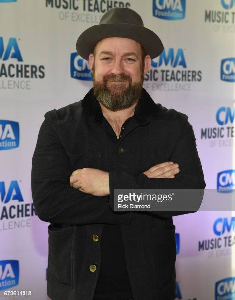 Singer/Songwriter Kristian Bush attends 2017 CMA Music Teachers Of Excellence Dinner at Nissan Stadium on April 26 2017 in Nashville Tennessee