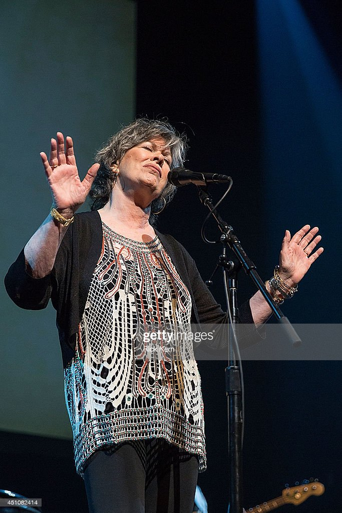 Singer-songwriter K.T. Oslin performs in concert as part of the 9th Annual Texas Heritage Songwriters' Hall of Fame Awards Show at ACL Live on June 22, 2014 in Austin, Texas.