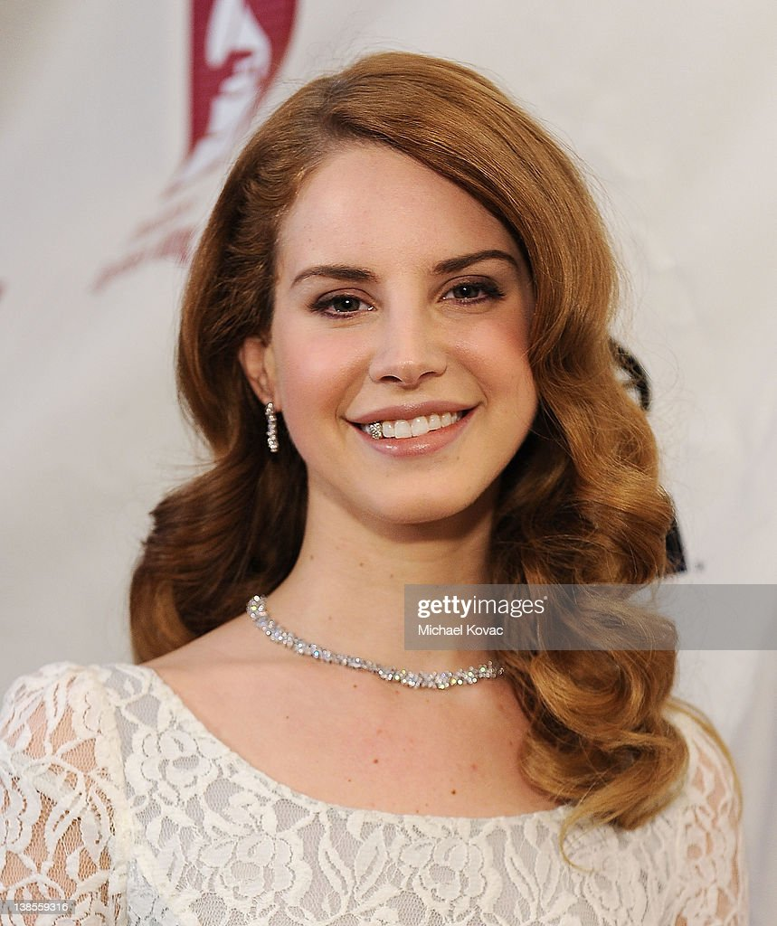 Singer/songwriter <a gi-track='captionPersonalityLinkClicked' href=/galleries/search?phrase=Lana+Del+Rey&family=editorial&specificpeople=8565478 ng-click='$event.stopPropagation()'>Lana Del Rey</a> arrives at the P&E Wing Event at The Village Recording Studios on February 8, 2012 in Los Angeles, California.