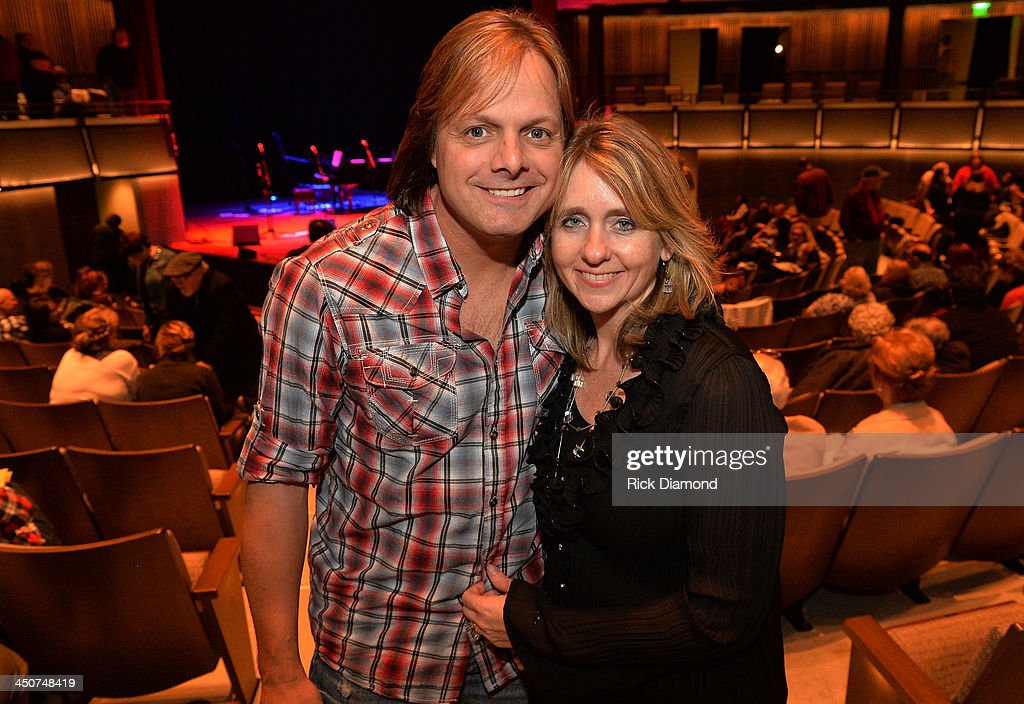 Singer/Songwriter Lee Roy of The Roys and Wife Kim Roy attend Ricky Skaggs - Day 2 Bluegrass Rules at the CMA Theater on November 19, 2013 in Nashville, Tennessee. Skaggs was recently announced as the Country Music Hall of Fame and Museum's 2013 Artist-in-Residence.
