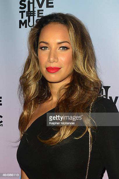 Singer/songwriter Leona Lewis attends Friends N Family 17th Annual PreGrammy Party at Park Plaza on January 24 2014 in Los Angeles California