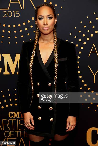 Singersongwriter Leona Lewis attends the 2015 'CMT Artists of the Year' at Schermerhorn Symphony Center on December 2 2015 in Nashville Tennessee
