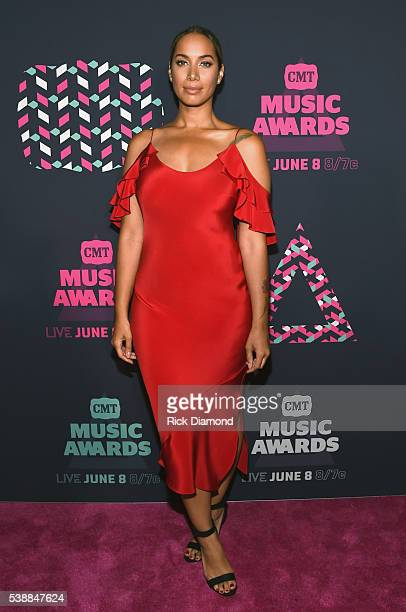 Singersongwriter Leona Lewis attends the 2016 CMT Music awards at the Bridgestone Arena on June 8 2016 in Nashville Tennessee