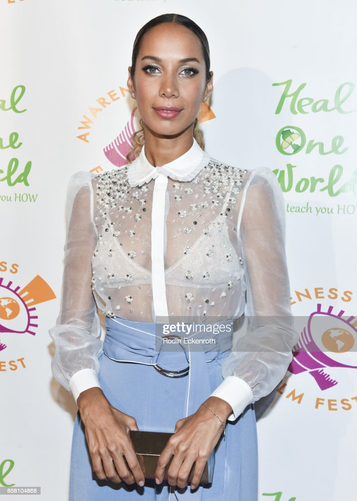 Singer/songwriter Leona Lewis attends the 2017 Awareness Film Festival Opening Night Premiere of 'The Road to Yulin and Beyond' at Regal LA Live Stadium 14 on October 5, 2017 in Los Angeles, California.