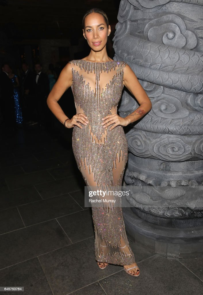 Singer-songwriter Leona Lewis attends The Weinstein Company's Academy Awards viewing and after party in partnership with Grey Goose at TAO Los Angeles on February 26, 2017, 2017 in Los Angeles, California.