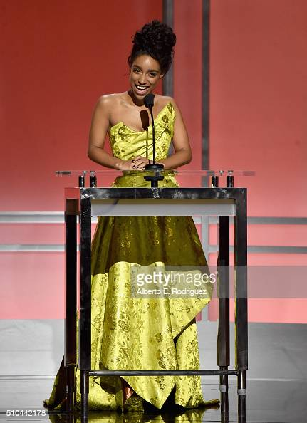 Singersongwriter Lianne La Havas speaks onstage during the GRAMMY PreTelecast at The 58th GRAMMY Awards at Microsoft Theater on February 15 2016 in...