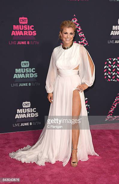 Singersongwriter Lindsay Ell attends the 2016 CMT Music awards at the Bridgestone Arena on June 8 2016 in Nashville Tennessee
