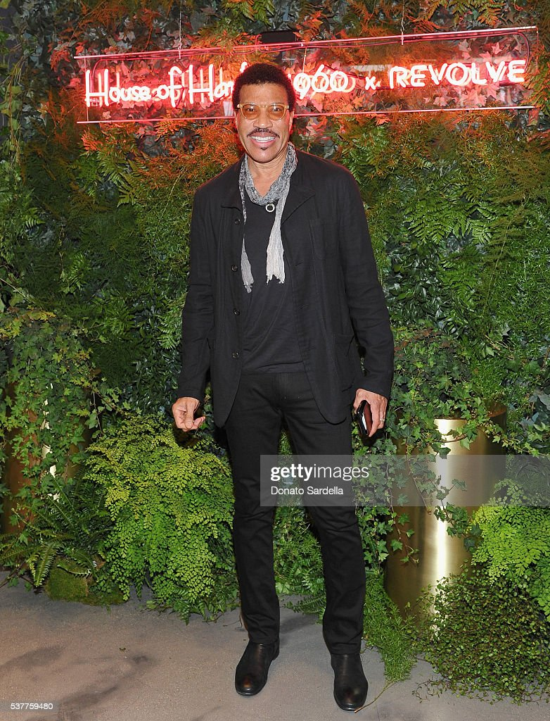 Singer-songwriter Lionel Richie attends House of Harlow 1960 x REVOLVE on June 2, 2016 in Los Angeles, California.