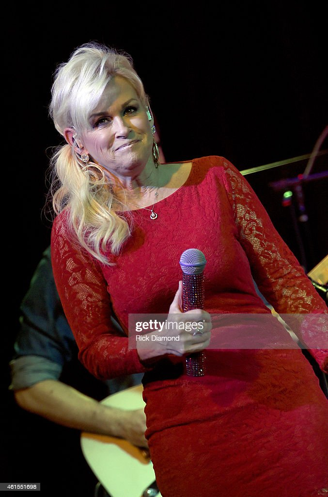 Singer/Songwriter Lorrie Morgan performs at City Winery on January 14, 2015 in Nashville, Tennessee.