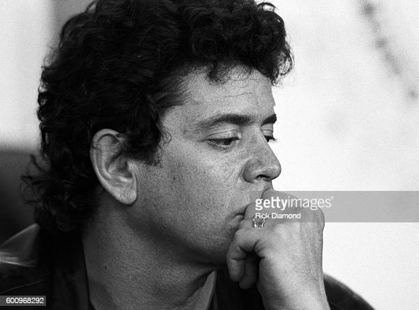 Singer/Songwriter Lou Reed attends a press conference discussing The Conspiracy of Hope tour celebrating Amnesty International's 25th anniversary at...