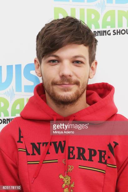 Singer/songwriter Louis Tomlinson visits 'The Elvis Duran Z100 Morning Show' at Z100 Studio on August 1 2017 in New York City