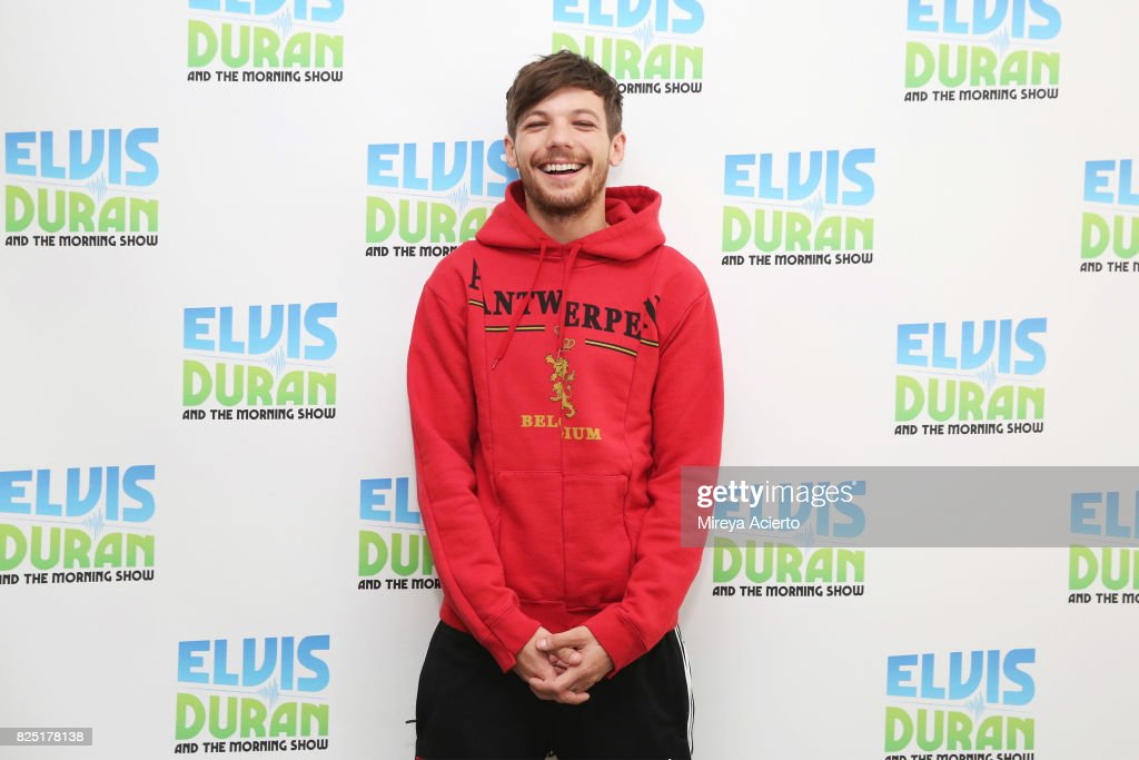 Singer/songwriter, Louis Tomlinson visits 'The Elvis Duran Z100 Morning Show' at Z100 Studio on August 1, 2017 in New York City.