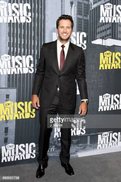 Singersongwriter Luke Bryan attends the 2017 CMT Music Awards at the Music City Center on June 7 2017 in Nashville Tennessee