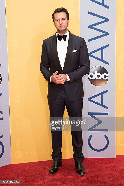 Singersongwriter Luke Bryan attends the 50th annual CMA Awards at the Bridgestone Arena on November 2 2016 in Nashville Tennessee