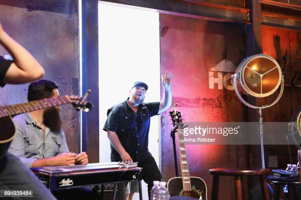 Singersongwriter Luke Combs performs onstage at the HGTV Lodge during CMA Music Fest on June 11 2017 in Nashville Tennessee