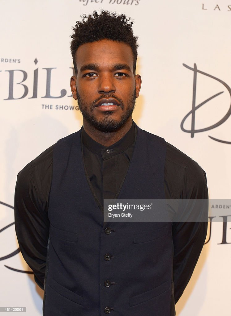 Singer/songwriter Luke James arrives at the 'Jubilee!' show's grand reopening at Ballys Las Vegas on March 29, 2014 in Las Vegas, Nevada.