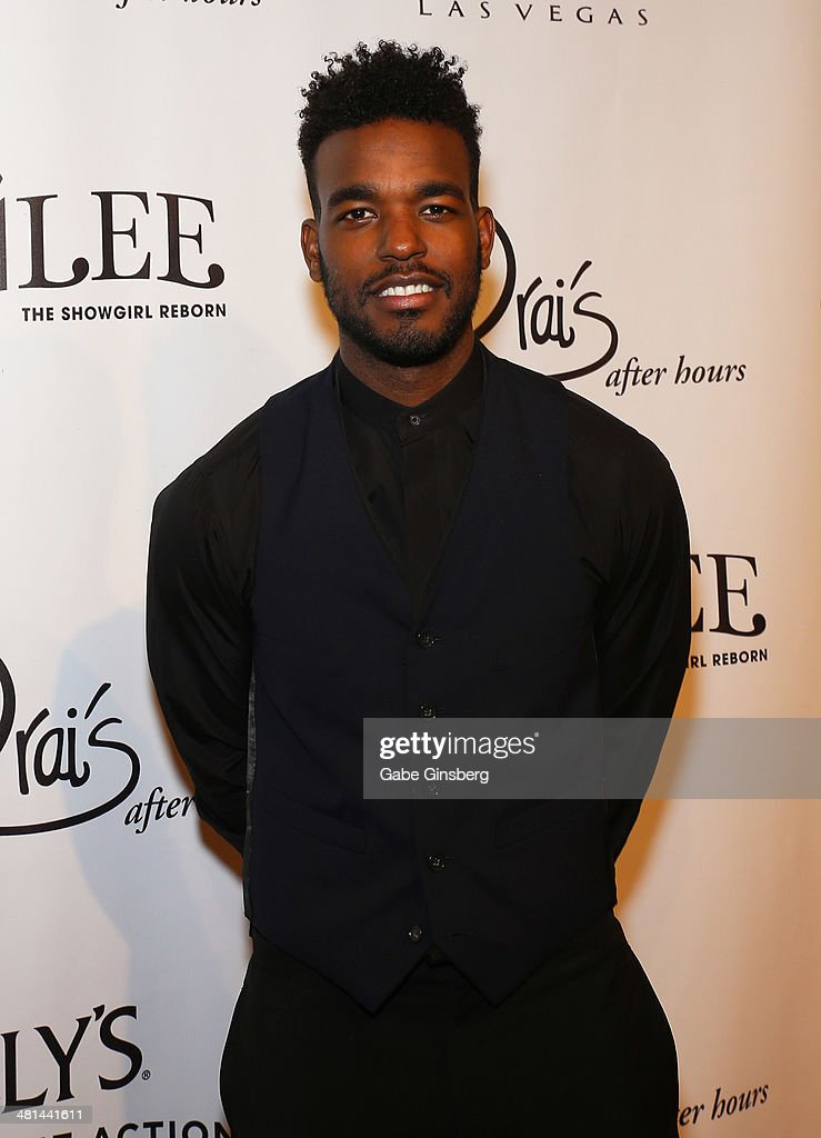 Singer/songwriter Luke James arrives at the 'Jubilee' show's grand re-opening at Bally's Las Vegas on March 29, 2014 in Las Vegas, Nevada.