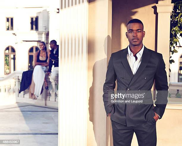 Singer/songwriter Luke James is photographed for Sean John on May 8 2012 in Los Angeles California