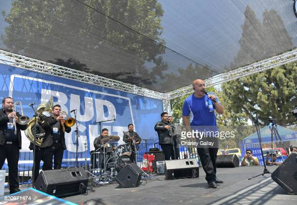 "Singersongwriter Lupillo Rivera partnered with the brand that's famous among friends to celebrate ""Hecho en Los Angeles"" Bud Light's new campaign..."