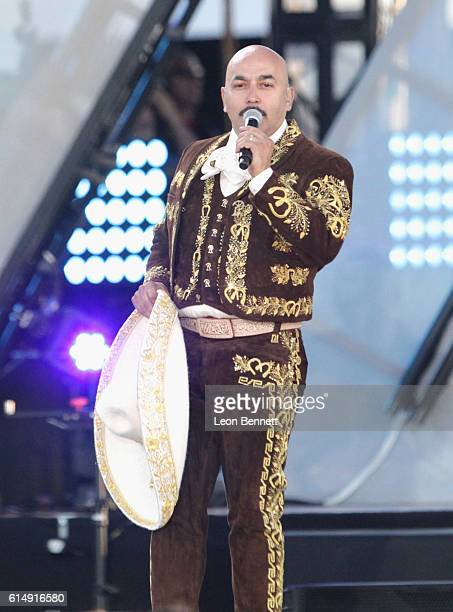 Singer/songwriter Lupillo Rivera performs onstage at Univision and Fusion host RiseUp AS ONE at Cross Border Xpress on October 15 2016 in San Diego...