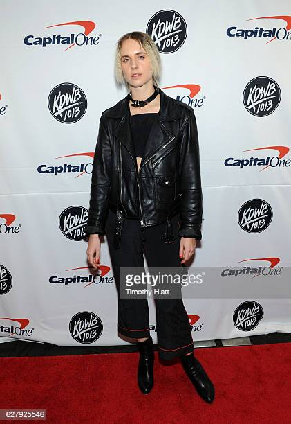 Singer/songwriter MØ attends 1013 KDWB's Jingle Ball 2016 presented by Capital One at Xcel Energy Center on December 5 2016 in St Paul Minnesota