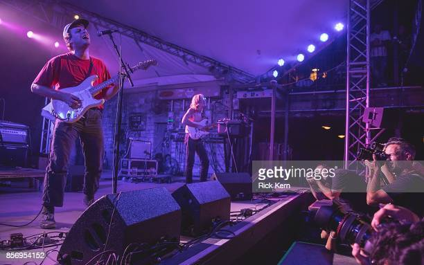 Singersongwriter Mac DeMarco performs in concert at Stubb's BarBQ on October 2 2017 in Austin Texas
