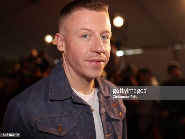 Singersongwriter Macklemore attends the 2017 iHeartRadio Music Awards which broadcast live on Turner's TBS TNT and truTV at The Forum on March 5 2017...