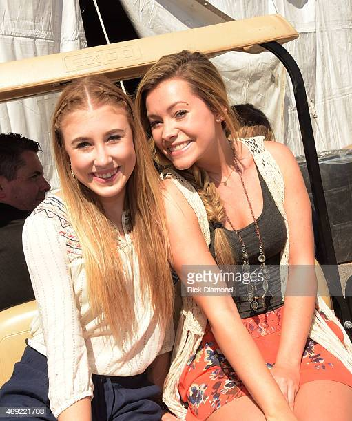 Singer/Songwriter Maddie Tae backstage at Country Thunder USA Day 2 April 10 2015 in Florence Arizona