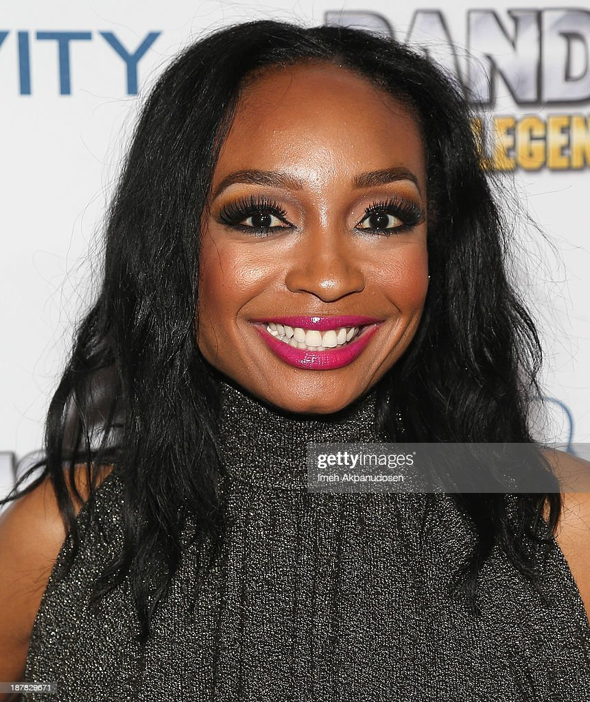 Singer/songwriter <a gi-track='captionPersonalityLinkClicked' href=/galleries/search?phrase=Malina+Moye&family=editorial&specificpeople=797314 ng-click='$event.stopPropagation()'>Malina Moye</a> attends the BandFuse: Rock Legends video game launch event at House of Blues Sunset Strip on November 12, 2013 in West Hollywood, California.