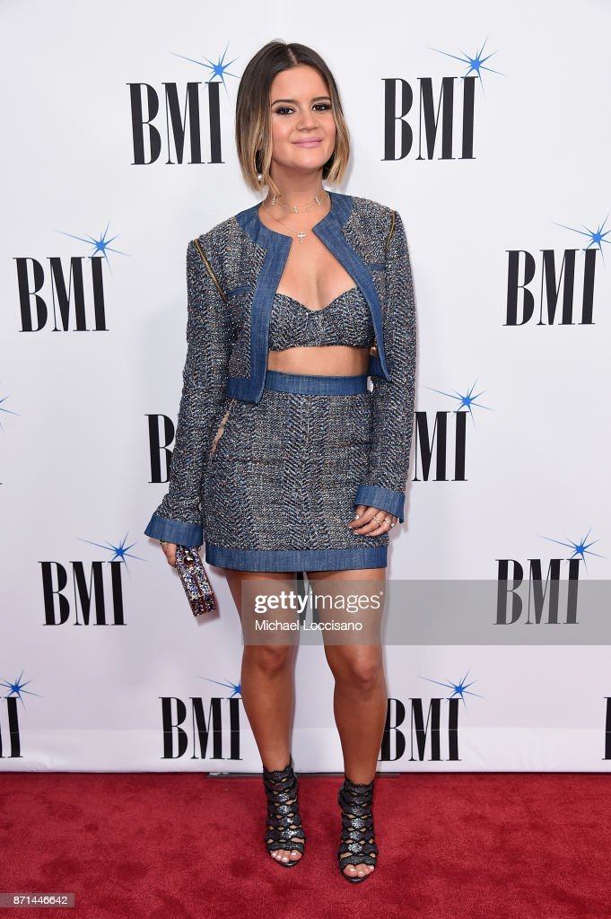 Singer-songwriter Maren Morris, attends the 65th Annual BMI Country awards on November 7, 2017 in Nashville, Tennessee.