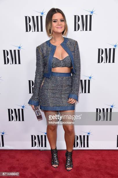 Singersongwriter Maren Morris attends the 65th Annual BMI Country awards on November 7 2017 in Nashville Tennessee