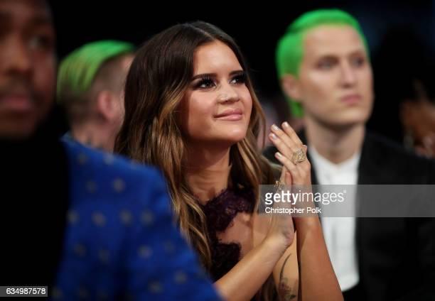 Singer/Songwriter Maren Morris during The 59th GRAMMY Awards at STAPLES Center on February 12 2017 in Los Angeles California