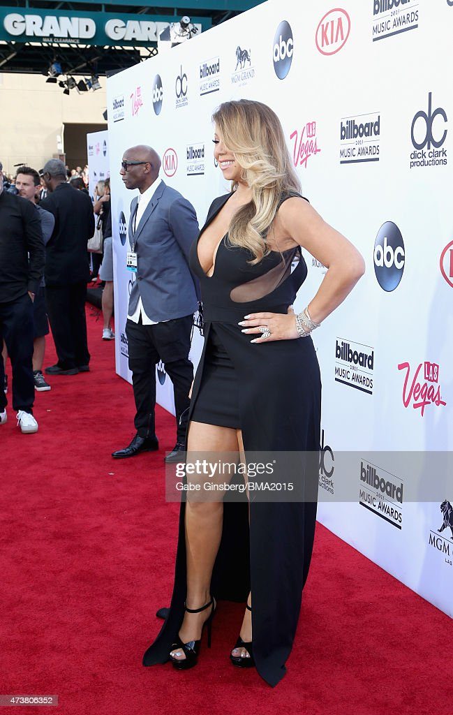 Singer/songwriter Mariah Carey attends the 2015 Billboard Music Awards with Kia Motors at MGM Grand Garden Arena on May 17 2015 in Las Vegas Nevada