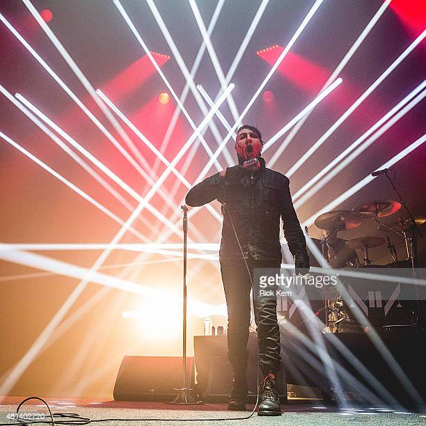 Singersongwriter Marilyn Manson performs in concert at ACL Live on July 19 2015 in Austin Texas