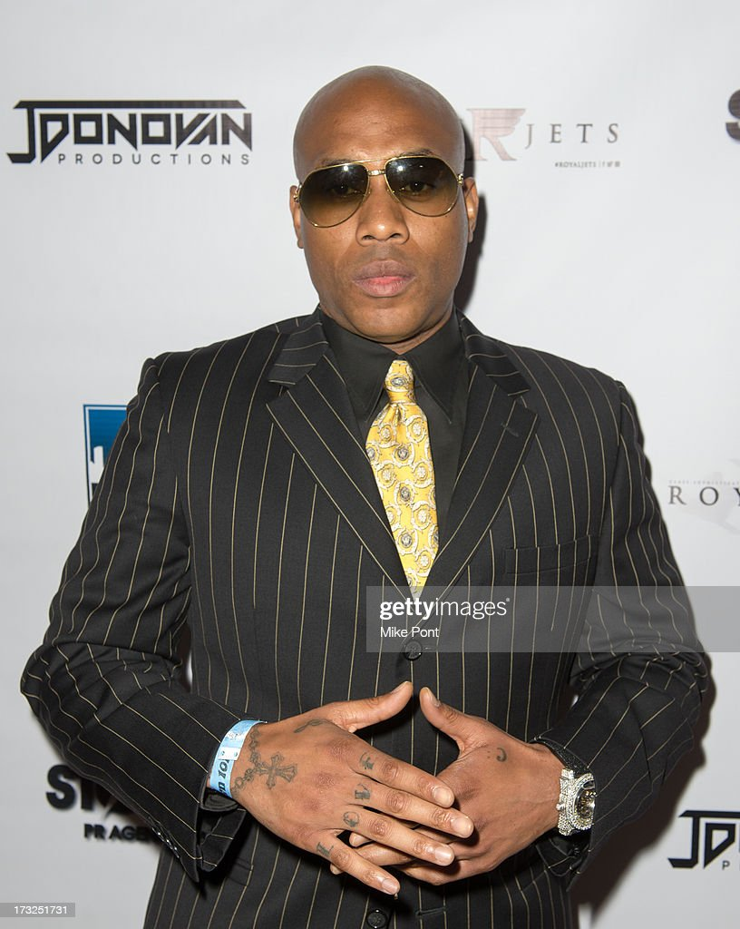 Singer-Songwriter <a gi-track='captionPersonalityLinkClicked' href=/galleries/search?phrase=Mario+Winans&family=editorial&specificpeople=217272 ng-click='$event.stopPropagation()'>Mario Winans</a> attends Renee Graziano's Celebrity Dinner Party at Midtown 1015 on July 10, 2013 in New York City.
