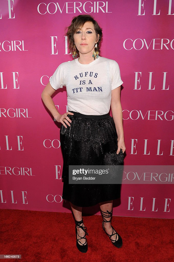 Singer/songwriter Martha Wainwright attends the 4th Annual ELLE Women in Music Celebration at The Edison Ballroom on April 10, 2013 in New York City.