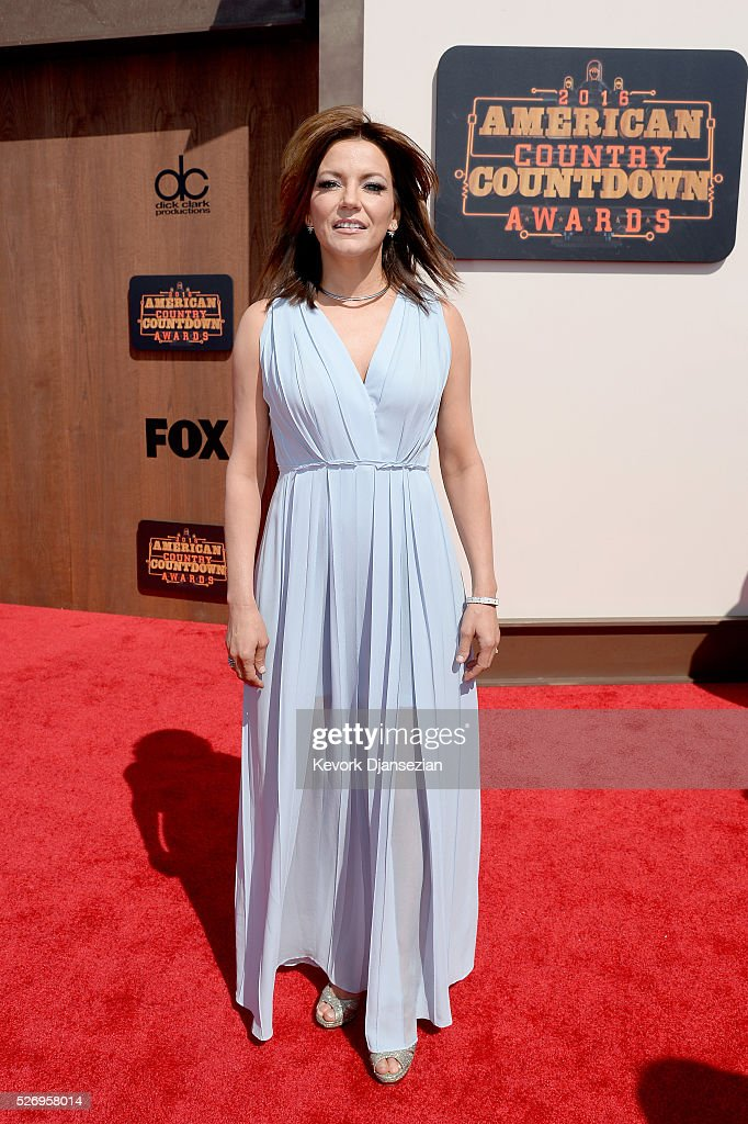 Singer-songwriter Martina McBride attends the 2016 American Country Countdown Awards at The Forum on May 1, 2016 in Inglewood, California.