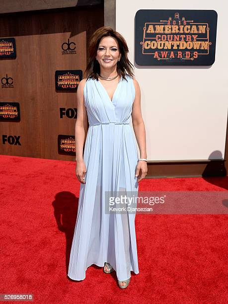Singersongwriter Martina McBride attends the 2016 American Country Countdown Awards at The Forum on May 1 2016 in Inglewood California