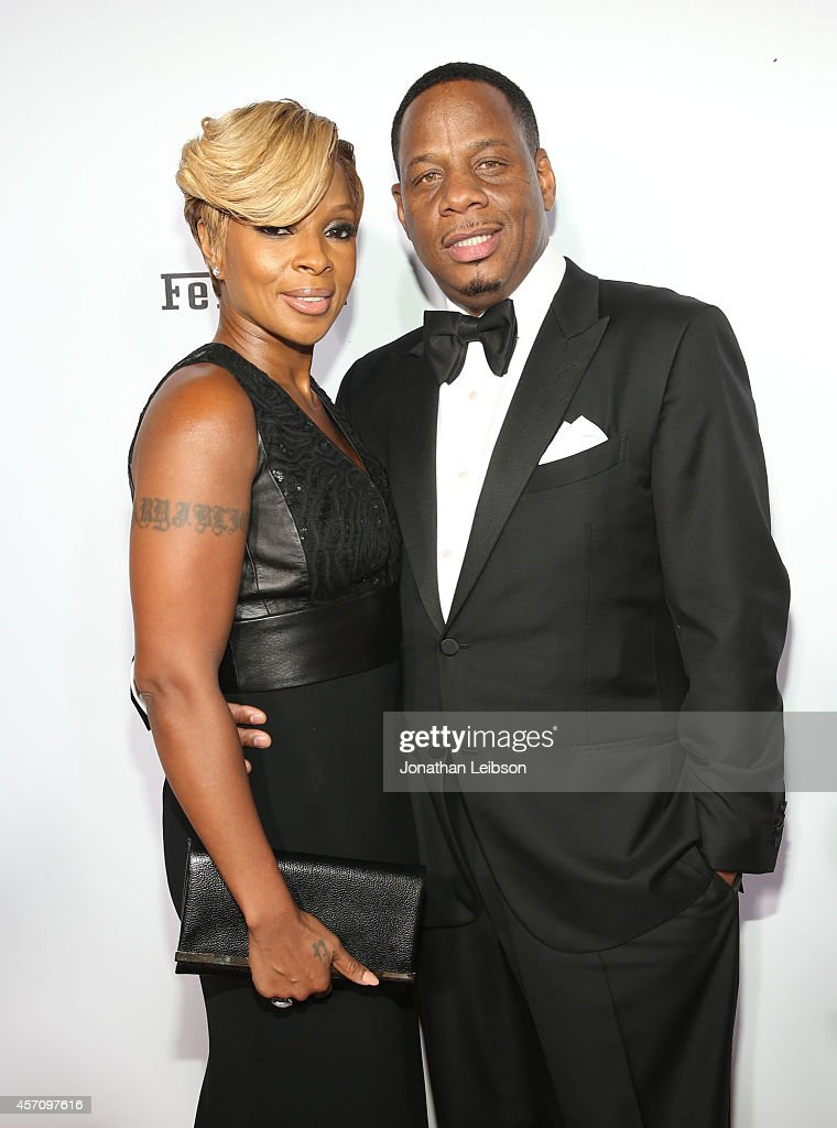Singer/songwriter <a gi-track='captionPersonalityLinkClicked' href=/galleries/search?phrase=Mary+J.+Blige&family=editorial&specificpeople=171124 ng-click='$event.stopPropagation()'>Mary J. Blige</a> (L) and <a gi-track='captionPersonalityLinkClicked' href=/galleries/search?phrase=Kendu+Isaacs&family=editorial&specificpeople=841121 ng-click='$event.stopPropagation()'>Kendu Isaacs</a> attend Ferrari Celebrates 60 Years In America on October 11, 2014 in Los Angeles, California.