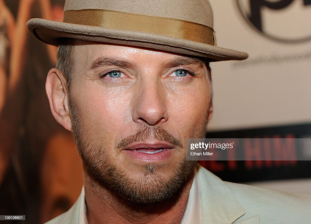Singer/songwriter Matt Goss arrives at a screening of Universal Pictures' 'Get Him to the Greek' at the Planet Hollywood Resort Casino May 20 2010 in...