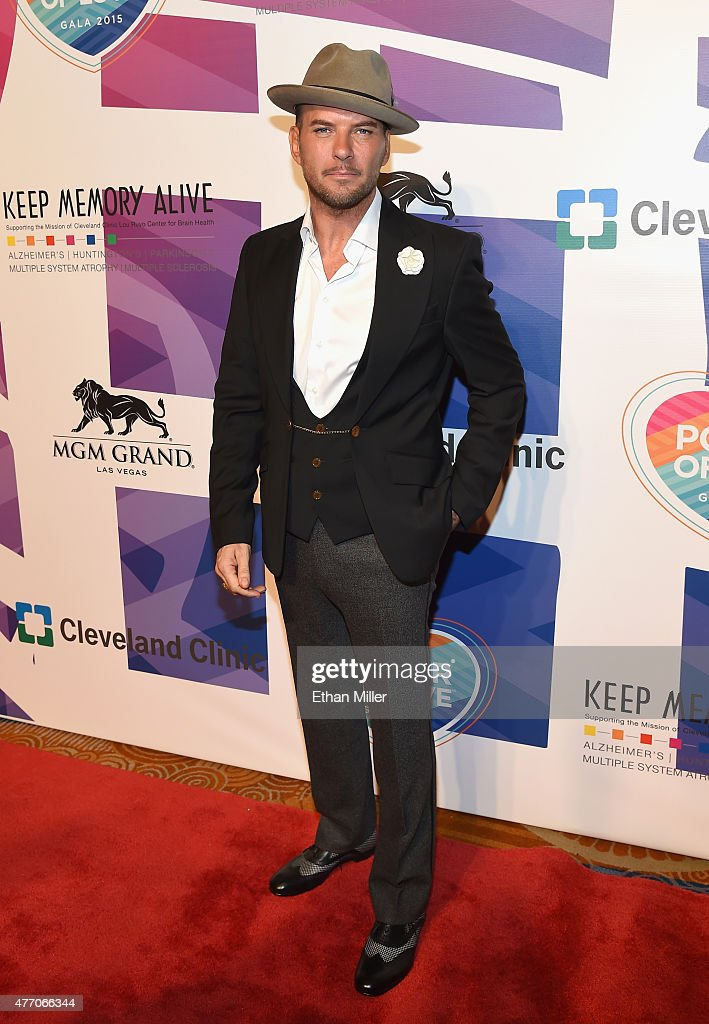 Singer/songwriter Matt Goss attends the 19th annual Keep Memory Alive 'Power of Love Gala' benefit for the Cleveland Clinic Lou Ruvo Center for Brain...