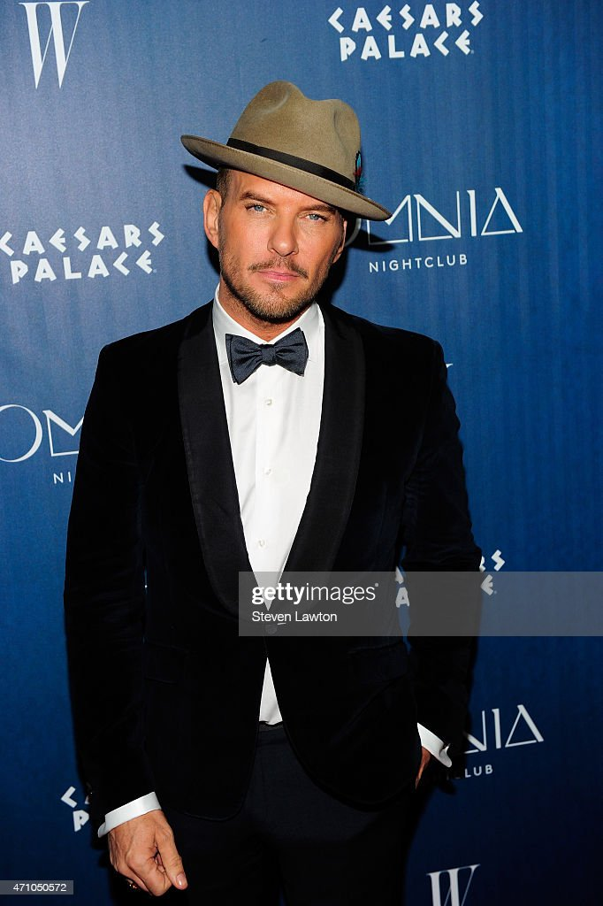 Singer/songwriter Matt Goss attends the grand opening weekend at Omnia Nightclub at Caesars Palace on April 25 2015 in Las Vegas Nevada