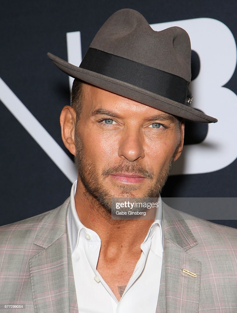 Singer/songwriter Matt Goss attends the premiere of Universal Pictures' 'Jason Bourne' at The Colosseum at Caesars Palace on July 18 2016 in Las...