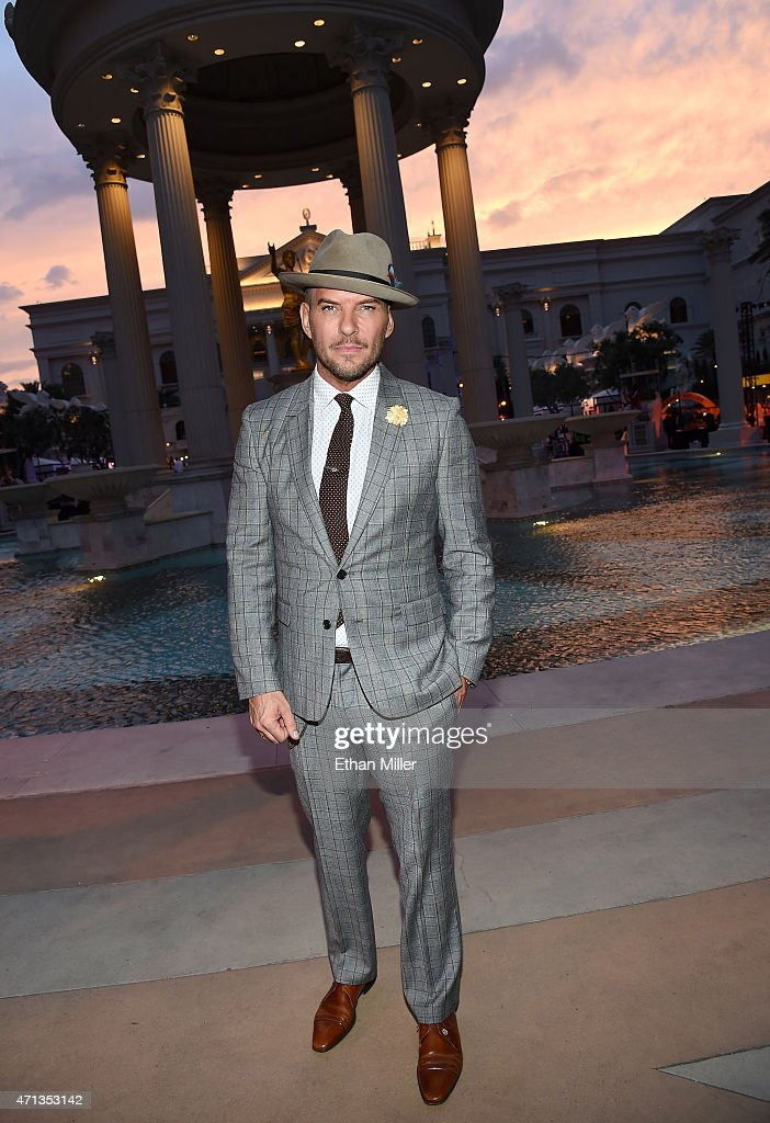 Singer/songwriter Matt Goss attends Vegas Uncork'd by Bon Appetit's Grand Tasting event at Caesars Palace on April 24 2015 in Las Vegas Nevada